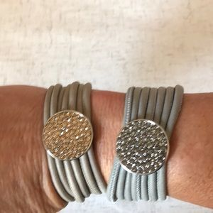 Jewelry - Magnetic closure bracelet set of two